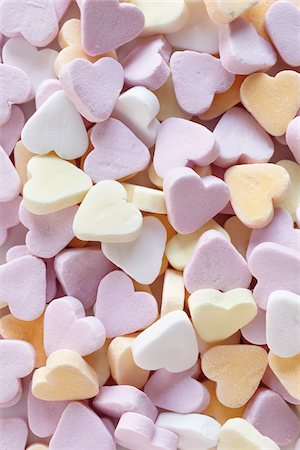 still life of candy hearts Stock Photo - Rights-Managed, Code: 700-06714128