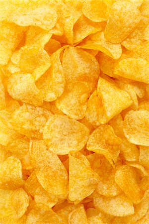 Close-up still life of potato chips Stock Photo - Rights-Managed, Code: 700-06714121