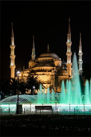 Turkey, Marmara, Istanbul, Blue Mosque (Sultan Ahmed Mosque) Stock Photo - Rights-Managed, Code: 700-06714206