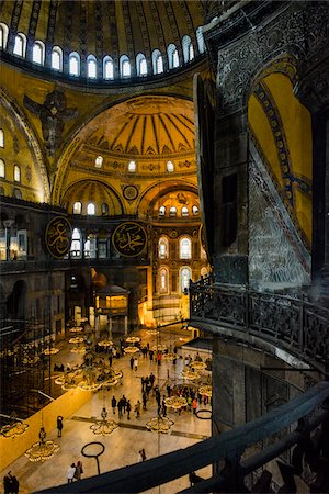 Turkey, Marmara, Istanbul, Sultanahmet, Hagia Sophia (Ayasofya) Stock Photo - Rights-Managed, Code: 700-06714215
