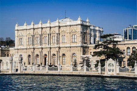 Turkey, Marmara, Istanbul, Dolmabahce Palace by the Bosphorus Stock Photo - Rights-Managed, Code: 700-06714220