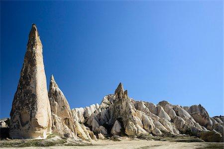 Turkey, Central Anatolia, Cappadocia, Fairy Chimney Rock Formations Stock Photo - Rights-Managed, Code: 700-06732672
