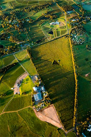 Aerial view of wine country near Pokolbin, Hunter Valley, New South Wales, Australia Stock Photo - Rights-Managed, Code: 700-06732746