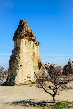 Turkey, Central Anatolia, Cappadocia, Tuff rock formations (Fairy Chimneys), Pasabag, near Zelve Stock Photo - Rights-Managed, Code: 700-06732776