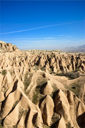 Turkey, Central Anatolia, Cappadocia, Overview of Rock Formations Stock Photo - Rights-Managed, Code: 700-06732773