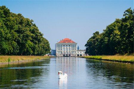 Germany, Bavaria, Oberbayern, Munich, München, Nymphenburg Palace Stock Photo - Rights-Managed, Code: 700-06752325