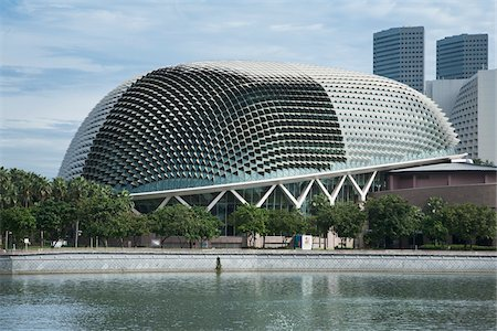 Esplanade Theatres on the Bay in Singapore Stock Photo - Rights-Managed, Code: 700-06773206