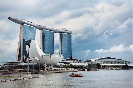 Marina Bay Sands casino and hotel in Singapore Stock Photo - Rights-Managed, Code: 700-06773209