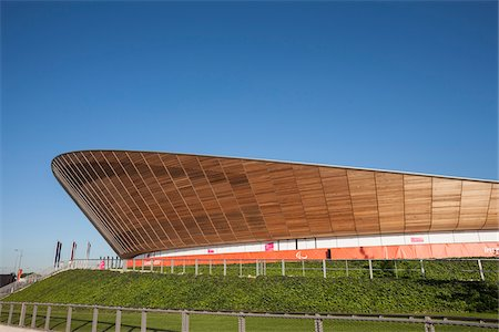 Cycling Velodrome built for London 2012 Summer Olympics, Stratford, East London, UK Stock Photo - Rights-Managed, Code: 700-06773292