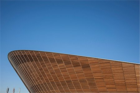 Close-Up of Cycling Velodrome built for London 2012 Summer Olympics, Stratford, East London, UK Stock Photo - Rights-Managed, Code: 700-06773293