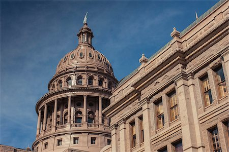 Texas state capitol building, Austin, Texas, USA Stock Photo - Rights-Managed, Code: 700-06773342