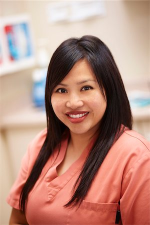 filipina - Portrait of Female Dental Hygienist in Examination Room. Stock Photo - Rights-Managed, Code: 700-06786919
