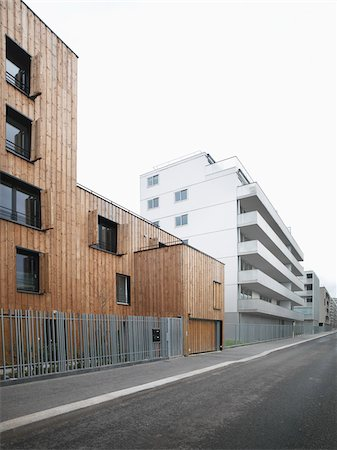flat - Contemporary Block Apartments in Paris, France Stock Photo - Rights-Managed, Code: 700-06808748