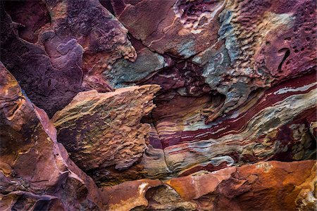 purple - Close-Up of Rock Detail, The Loop, Kalbarri National Park, Western Australia, Australia Stock Photo - Rights-Managed, Code: 700-06841564