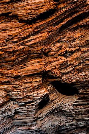 slate - Hamersley Gorge, The Pilbara, Western Australia, Australia Stock Photo - Rights-Managed, Code: 700-06841584
