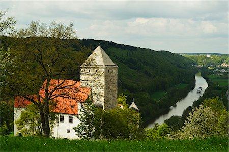 Prunn Castle, near Riedenburg, Altmuehl Valley, Bavaria, Germany, Europe Stock Photo - Rights-Managed, Code: 700-06894754