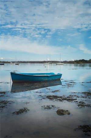 fishing boat in Morbihan Gulf, France Stock Photo - Rights-Managed, Code: 700-06892578