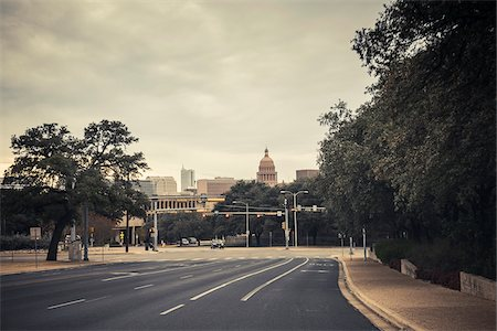 View of downtown Austin, Texas, USA Stock Photo - Rights-Managed, Code: 700-06892630