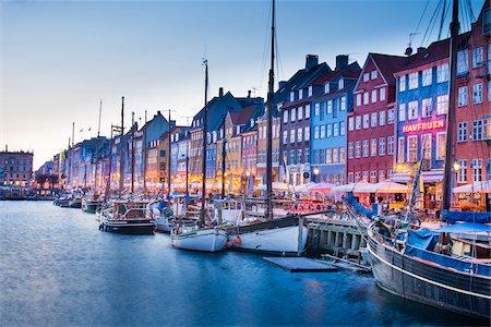 17th Century Building on Waterfront, Nyhavn, Copenhagen, Denmark Stock Photo - Rights-Managed, Code: 700-06939607