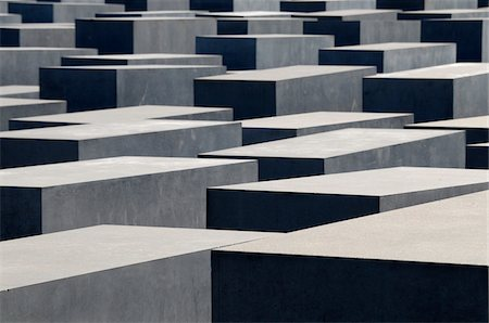 estructura - Close-up of Holocaust memorial, Berlin, Germany Foto de stock - Con derechos protegidos, Código: 700-06961810