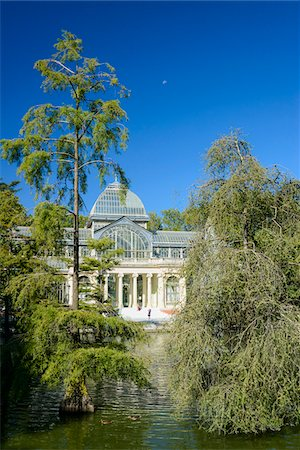 Europe, Spain, Comunidad de Madrid, Madrid, Parque del Buen Retiro, Crystal Palace (Palacio de Cristal) Stock Photo - Rights-Managed, Code: 700-06961822