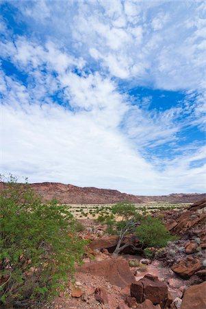 rugged landscape - Twyfelfontein, UNESCO World Heritage site, Damaraland, Kunene Region, Namibia, Africa Stock Photo - Rights-Managed, Code: 700-07067069