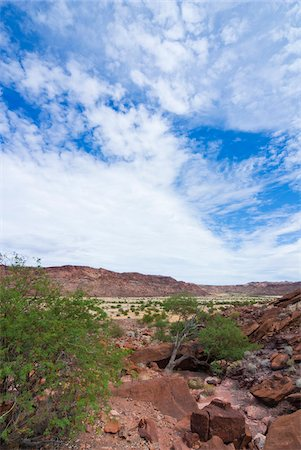 rugged landscape - Twyfelfontein, UNESCO World Heritage site, Damaraland, Kunene Region, Namibia, Africa Stock Photo - Rights-Managed, Code: 700-07067069