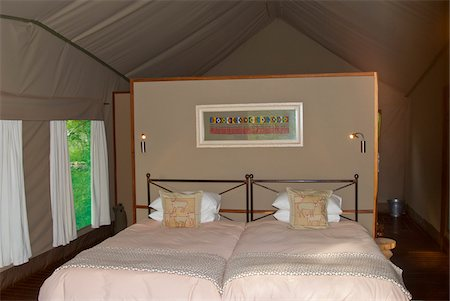 Ongava Tented Camp, Namibia, Africa Stock Photo - Rights-Managed, Code: 700-07067089