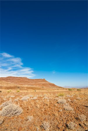 rugged landscape - Huab River Valley area, Damaraland, Kunene Region, Namibia, Africa Stock Photo - Rights-Managed, Code: 700-07067179