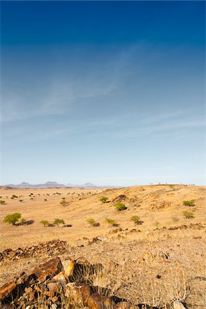 rugged landscape - Scenic view of desert landscape, Damaraland, Kunene Region, Namibia, Africa Stock Photo - Rights-Managed, Code: 700-07067252
