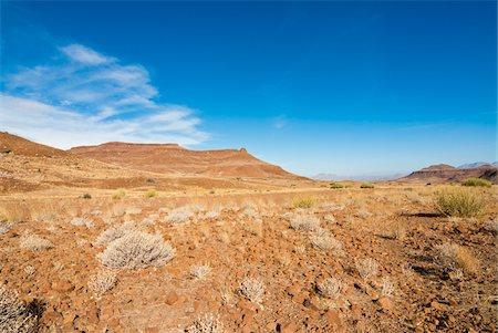 rugged landscape - Huab River Valley area, Damaraland, Kunene Region, Namibia, Africa Stock Photo - Rights-Managed, Code: 700-07067261