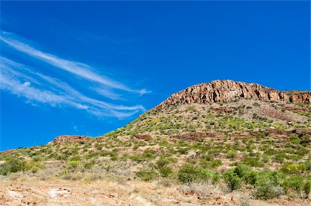 View of mountain side and sky, Damaraland, Kunene Region, Namibia, Africa Stock Photo - Rights-Managed, Code: 700-07067307