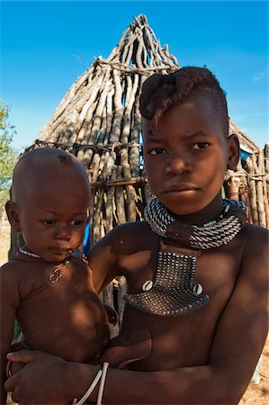 Portrait of Himba boys, Kaokoveld, Namibia, Africa Stock Photo - Rights-Managed, Code: 700-07067369