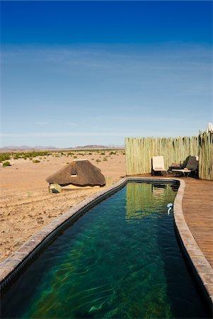 rugged landscape - Pool, Doro Nawas Camp, Damaraland, Kunene Region, Namibia, Africa Stock Photo - Rights-Managed, Code: 700-07067678