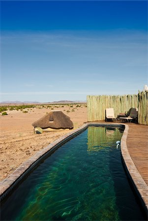 Pool, Doro Nawas Camp, Damaraland, Kunene Region, Namibia, Africa Stock Photo - Rights-Managed, Code: 700-07067678