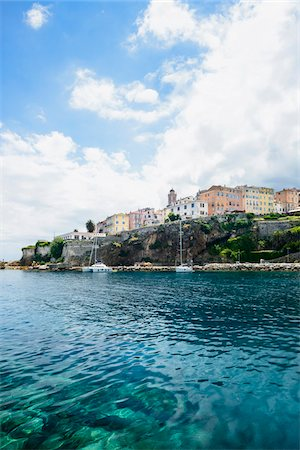 Scenic view of the Citadel, Bastia, Corica, France Stock Photo - Rights-Managed, Code: 700-07148263