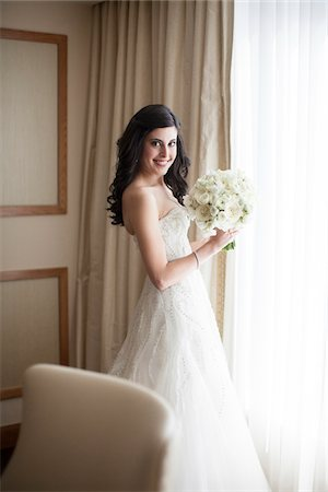 Portrait of Bride, Toronto, Ontario, Canada Stock Photo - Rights-Managed, Code: 700-07156433