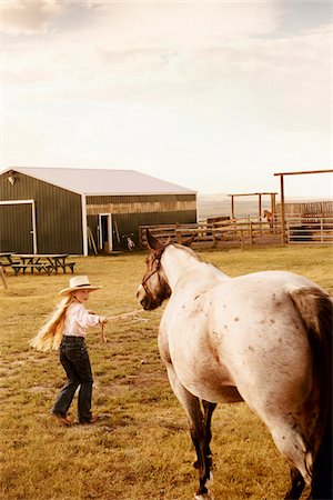 Girl with Horse Stock Photo - Rights-Managed, Code: 700-07199568