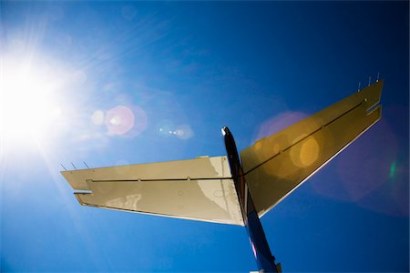 Tail of Private Jet Stock Photo - Rights-Managed, Code: 700-07199669