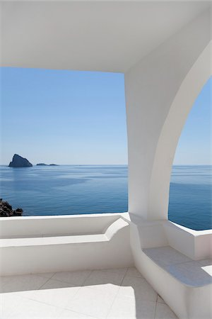 Morning View of Basiluzzo and Lisca Bianca from Panarea, Aeolian Islands, Italy Stock Photo - Rights-Managed, Code: 700-07204012