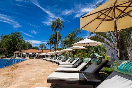 Swimming pool at Hotel das Cataratas, Iguacu Falls,  Iguacu Falls, Iguacu National Park, Parana, Brazil Stock Photo - Rights-Managed, Code: 700-07204197