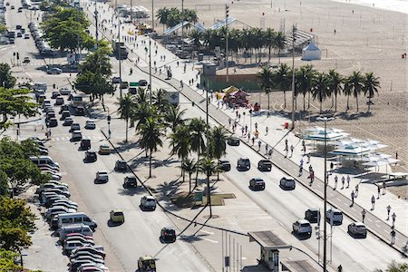 photography - Copacabana Promenade and Copacabana Beach, Rio de Janeiro, Brazil Stock Photo - Rights-Managed, Code: 700-07204209