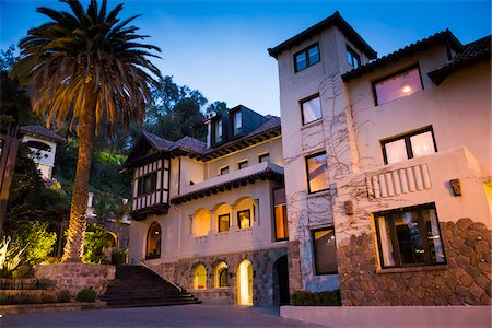 Aubrey Hotel, Bellavista District, Santiago, Chile Stock Photo - Rights-Managed, Code: 700-07237730