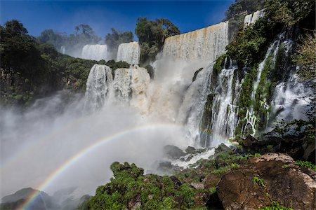 rainbow - Iguacu Falls, Iguacu National Park, Argentina Stock Photo - Rights-Managed, Code: 700-07237748