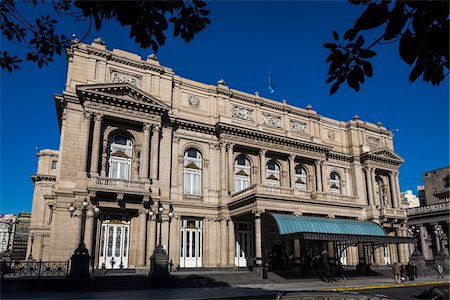 people in argentina - Teatro Colon, Buenos Aires, Argentina Stock Photo - Rights-Managed, Code: 700-07237754