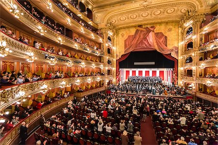 Interior of Teatro Colon, Buenos Aires, Argentina Stock Photo - Rights-Managed, Code: 700-07237768