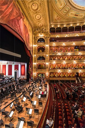 Interior of Teatro Colon, Buenos Aires, Argentina Stock Photo - Rights-Managed, Code: 700-07237769