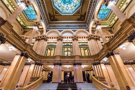Interior of Teatro Colon, Buenos Aires, Argentina Stock Photo - Rights-Managed, Code: 700-07237762