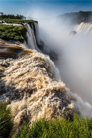 Devil's Throat (Garganta del Diablo) at Iguacu Falls, Iguacu National Park, Argentina Stock Photo - Rights-Managed, Code: 700-07237786