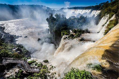 Iguacu Falls, Iguacu National Park, Argentina Stock Photo - Rights-Managed, Code: 700-07237799